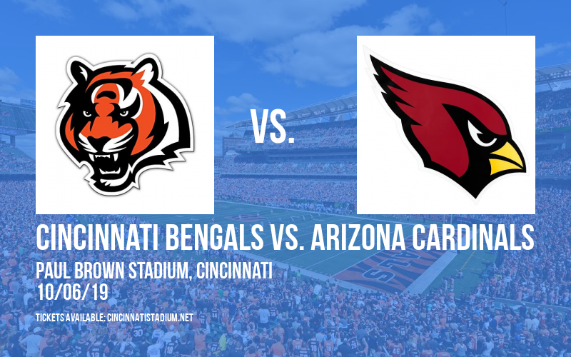 PARKING: Cincinnati Bengals vs. Arizona Cardinals at Paul Brown Stadium