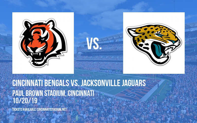 PARKING: Cincinnati Bengals vs. Jacksonville Jaguars at Paul Brown Stadium