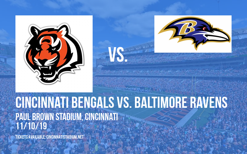 PARKING: Cincinnati Bengals vs. Baltimore Ravens at Paul Brown Stadium