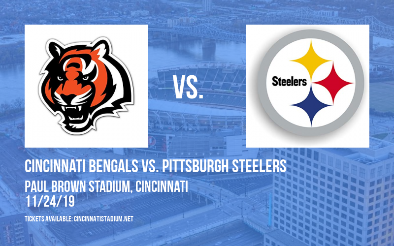 PARKING: Cincinnati Bengals vs. Pittsburgh Steelers at Paul Brown Stadium