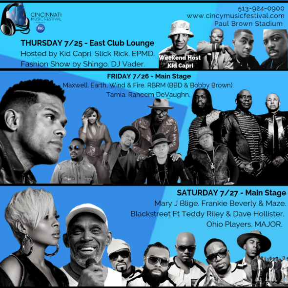 Cincinnati Music Festival - Thursday at Paul Brown Stadium