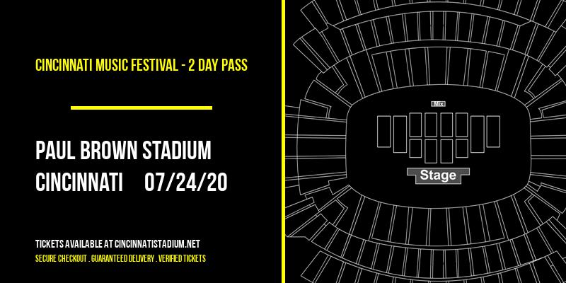 Cincinnati Music Festival - 2 Day Pass at Paul Brown Stadium