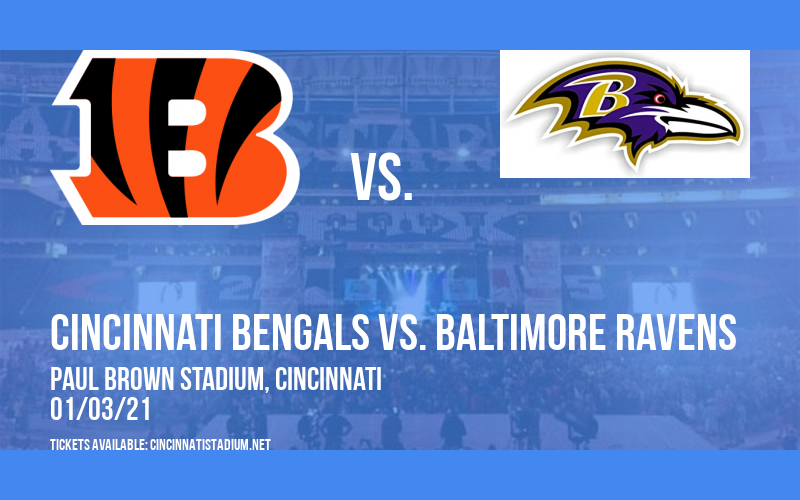 Cincinnati Bengals vs. Baltimore Ravens at Paul Brown Stadium